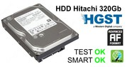 Жесткий диск,  HDD Hitachi 320Gb,  32Mb,  7200,  SATA III