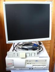 Продаю персональный компьютер (системный блок Compaq,  LCD монитор 17